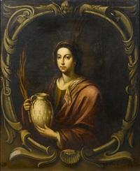 saint rufina by miguel alonso de tovar