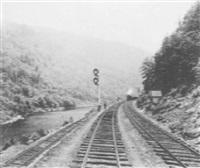 bear creek curve, l.v.r.r. by william h. rau