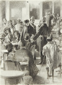 a social crime in a constantinople cafe by reginald thomas cleaver