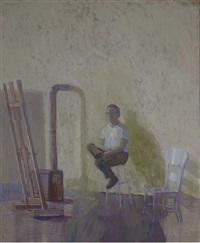 in the studio by joseph l. lasker
