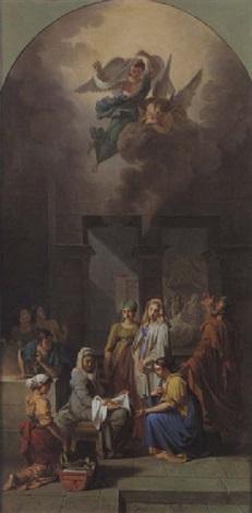 la naissance de la vierge by guillaume joseph roques