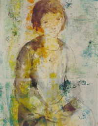 portrait de jeune fille by hippolyte daeye