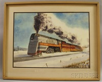 the milwaukee road; the hiawatha by francis wenderoth saunders