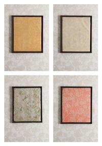 ensemble de quatre panneaux décoratifs (4 works) by frank d' anvers