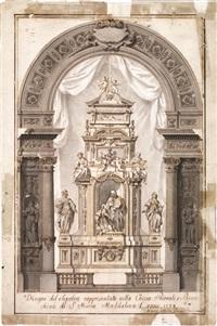 progetto di altare by giuseppe jarmorini