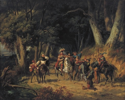 the encounter by pierre antoine labouchere