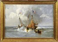 marine par gros temps by paul charles e. gaillard lepinay