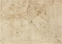 studio per affresco della basilica della ss annuziata del vastato by giulio benso