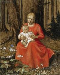 madonna im walde by hans huber-sulzemoos