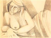 femme allongée by ruben camacho