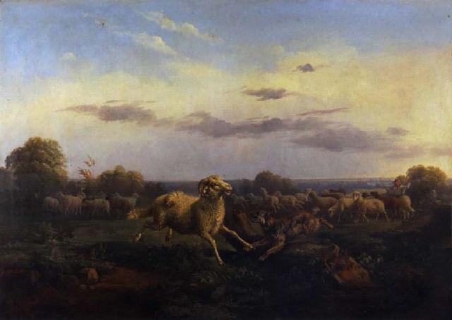 son chien et son troupeau by paul jean pierre gélibert