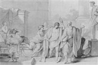 socrate détachant alcibiade des charmes de la volupté by jean françois pierre peyron