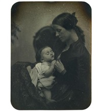 mother and child (1/2 pl.) by southworth & hawes