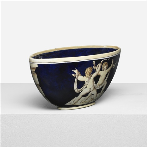 i putti con la serpe bowl by gio ponti