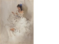 the locket by william russell flint