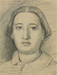 portrait of the artist's sister, thérèse de gas morbilli by edgar degas