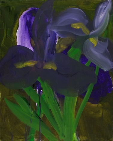 iris by rainer fetting