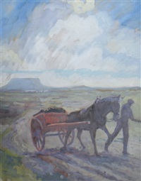 bringing home the turf by bernard mcdonagh