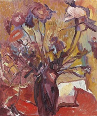 sunlight and flowers by david bomberg