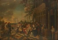 la fête au château by flemish school (17)