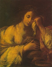 the magdalen by felice (il risposo) fischerelli
