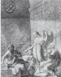scène d'histoire ancienne by charles toussaint labadye