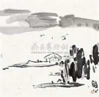 平沙落燕 by ya gong