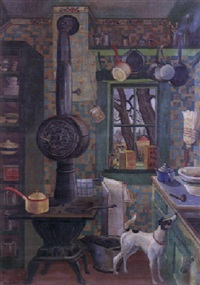 the kitchen by frances s. badger