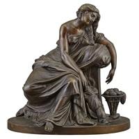 figure of penelope by pierre jean david d' angers