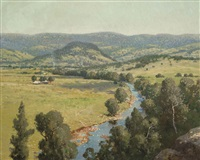 untitled (valley landscape) by william lister-lister