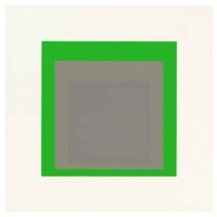 pending (from soft edge-hard edge) by josef albers