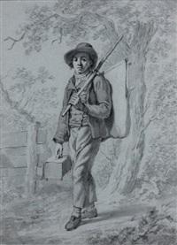 jeune savoyard: le montreur de marmottes by anicet charles gabriel lemonnier