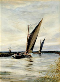 a sunday sail by charles mayes wigg