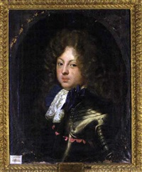 portrait of duke karl philipp of brunswick and lüneburg by jacques vaillant