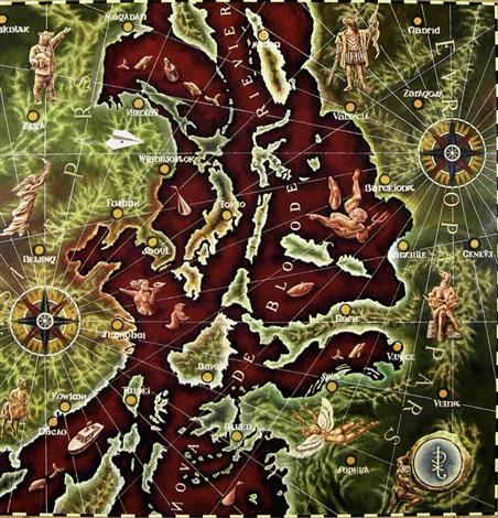 peta kali merah by agapetoes agus kristianda