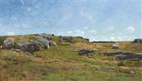 moorland path, cape ann, massachusetts by joseph de camp