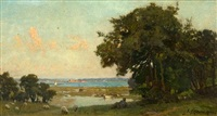 at the mouth of southampton water by frederick george cotman