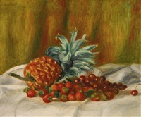 fraises et ananas by pierre-auguste renoir