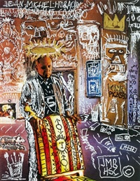 the king picasso by horacio cordero and jean-michel basquiat