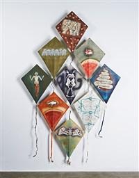 kites (9) by francisco toledo