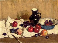 still life with jug by nikolai aleksandrovich antipov