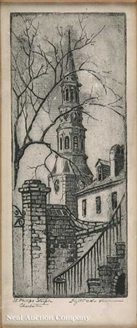 st philips steeple charleston st michaels steeple 2 works by elizabeth oneill verner