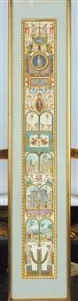 le logge di raffaello in vaticano (pair) by giovanni volpato