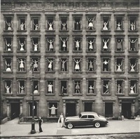 new york city (girls in windows) by ormond gigli