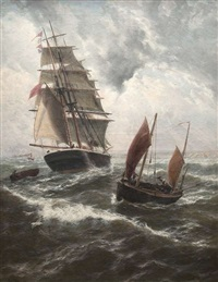 homeward bound to plymouth sound by thomas rose miles