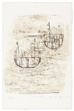 les petits bateaux by zao wou ki