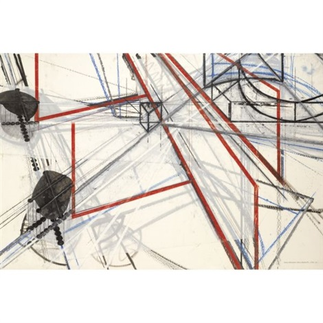 drawing interruptions blocked structures 2 by barry le va