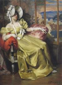 la robe jaune by alexandre françois bonnardel