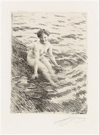 wet by anders zorn