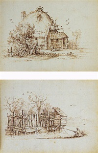 farmhouses and their surroundings by albert flamen